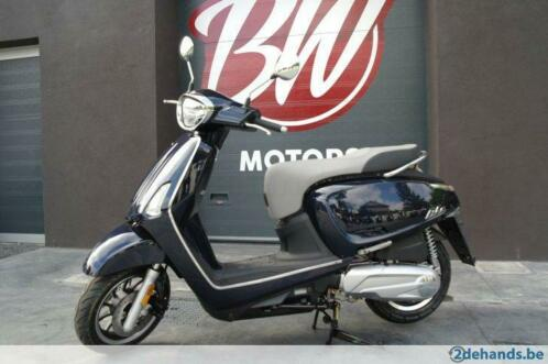 Kymco Like 125cc - Dark Blueberry-A1/ B-rijbewijs @BW Motors
