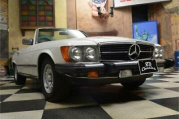 Mercedes-Benz 300-serie 380 SL Convertible