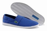 Brand New Lacoste Shoes Marice Canvas Blue Size 10 Men