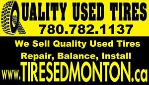 Quality Used Tires ! SALE ! Mount, Install + Balance; Tires Repairs! Please TEXT 7807821137