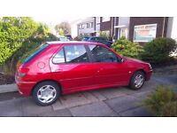 """Peugeot 306 meridian 1.4 petrol 2001 """"Y"""" 64800 miles"""