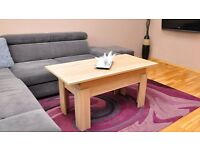 NEW ARRIVAL! LEON EXTENDABLE COFFEE TABLE! DINNER TABLE!3 COLOURS!DO NOT MISS IT!DELIVERY AVAILABLE!