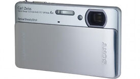 Sony DSC-TX5 Cyber-shot camera. Waterproof (3m). 10.2 mega pixels.