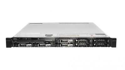 "Dell PowerEdge R620 2x SIX-CORE XEON E5-2620 64GB MEM RAID 8x2.5"" 1U Rack Server"