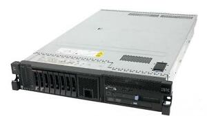 "IBM X3650 M2 Server , 2 X Quad Core 2.53Ghz 8 Cores , 64GB RAM , 500Gb HDD , 2 PSU "" LOWEST PRICE IN CANADA"""