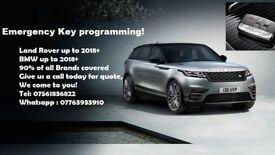Emergency key programming