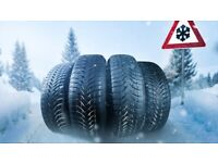 WINTER SNOW TYRES MOST SIZES AVAILABLE DONT GET STUCK THIS WINTER RING ME WITH TYRE SIZE FROM £30