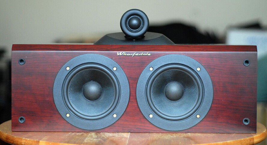 Pair of Wharfedale Pacific PI-CR 120W Speakers in Rosewood/Cherry ...