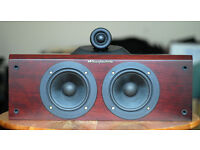 Pair of Wharfedale Pacific PI-CR 120W Speakers in Rosewood/Cherry