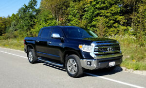 2017 TOYOTA TUNDRA 1794 ** TOP OF THE LINE ** LOW KMs **