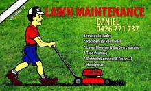 Daniel's Mowing Westminster Stirling Area Preview
