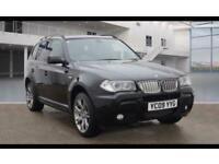 2009 BMW X3 2.0 20d Limited Sport Edition Auto xDrive 5dr SUV Diesel Automatic