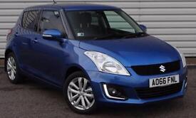 Suzuki Swift SZ4 1.2 Dualjet Petrol Manual 5 Door Blue 2016