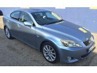 2006 Lexus is250 IS 250 2.5 V6 SE 4dr Saloon Manual Petrol Blue A/C/Heated Seats Fully Motd Serviced