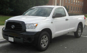 2007 Toyota Tundra V8, RWD Reg Cab, 80,000kms Org. Owner, CLEAN