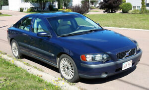 2004 Volvo S60 2.5T with winter tires