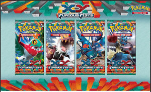10 Furious Fists Pokemon Sealed Booster Packs Kingston Kingston Kingston Area image 1