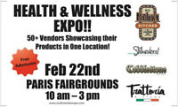 -- Health and Wellness Expo --Saturday Feb. 22nd,  2020 --