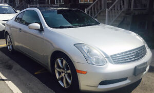 2006 Infiniti G35 Coupe with Low Kms and Original Condition 9/10