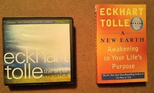 """Eckhart Tolle - 2 books & 1 audio book """"The Art of Presence"""""""