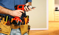 Handyman services. Reliable, clean, and efficient!