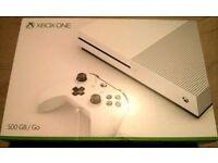 Xbox One Slim 500GB Console Brand New still sealed.
