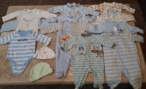Lot of baby clothes 3-6 months and 6 months - over 65 pieces!