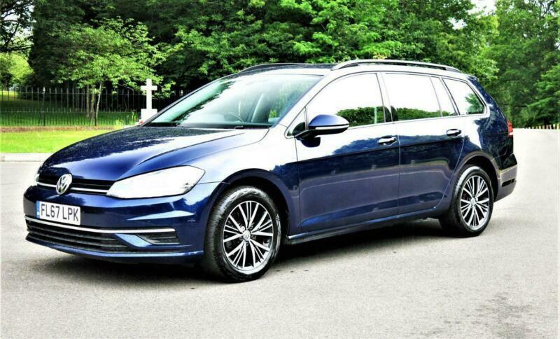 2017 Volkswagen Golf SE NAVIGATION 1.6 TDI VW SATNAV TECH Estate Diesel Manual