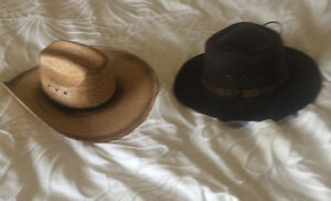 Great deal on 2 cowgirl hats