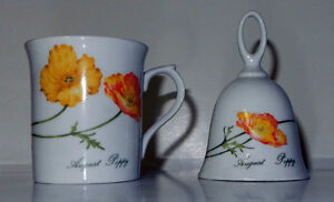 Fine China Cup and Bell