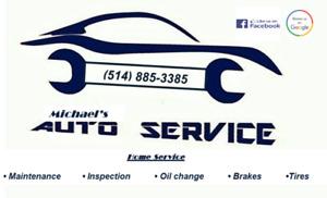 Mécanique a domicile home service huile oil pneus tires freins