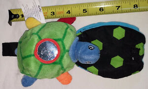 Soft Play Plush Mini Turtle Plush Toy and Book with Mirror London Ontario image 2