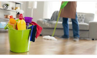 Evening and weekend house cleaning services!