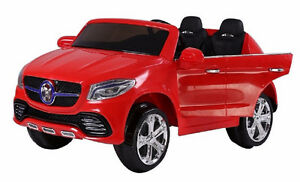Electric Two Seater 12V Child Ride-On Car Toy Doors Rubber Tires