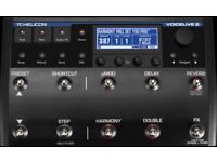 VOICELIVE 2 Vocal Effects Pedal - TC Helicon BRAND NEW