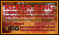 Klean King Commercial Floor and Carpet Care.