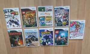 Wii + 28 jeux + accessoires fait moi un offre