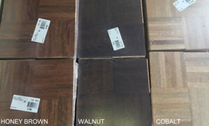 PREFINISHED PARQUET FLOORING CLEARANCE