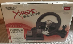 Racing Wheel for PC or PS2