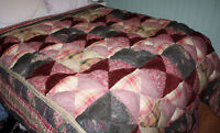 Beautiful Winter Texas Quilt, King-sized, Very warm