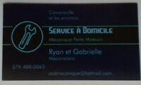 Service à Domicile Mécanique Petits Moteurs