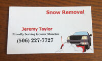 Snow Removal by V-Plow