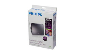 BNIB Philips SDV7225T Indoor 25 dB Amplified Digital TV Antenna
