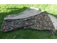 Camping Fishing Military Army Camouflage Sleeping bivvi Bag & Liner