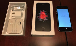 iPhones SE 16 GB Space Grey with Rogers or Fido
