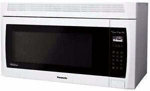 Micro-ondes Hotte Intégrée 2 pi³ Blanc Panasonic ( NN-SE284W )