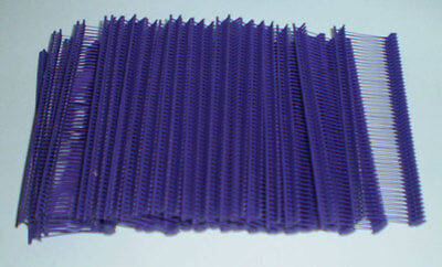 5000 Purple 1 Clothing Garment Price Label Tagging Tagger Gun Barbs Fasterners