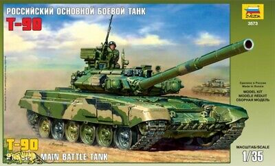 Russischer Kampfpanzer T-90 - 1:35 - Zvezda 3573