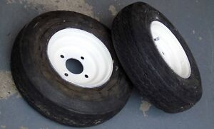 two 8 inch wheel and tire Prince George British Columbia image 3