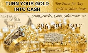 CASH for GOLD & SILVER - Coins, Jewelry, etc